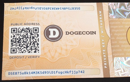 Dogecoin-Paper-Wallet