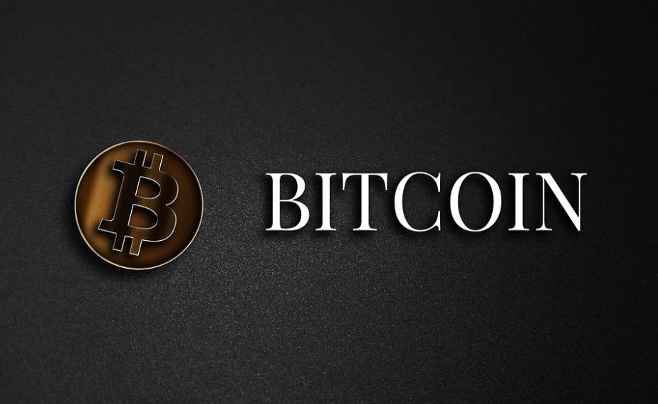 bitcoin-on-black-background